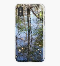 Still More Swamp Reflections iPhone Case/Skin