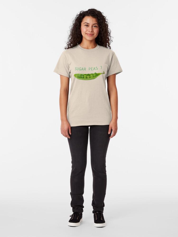 Alternate view of SUGAR PEAS 7 Classic T-Shirt