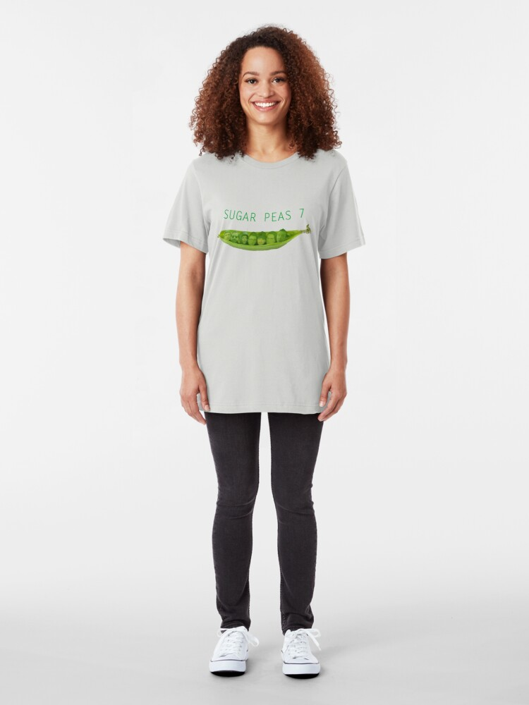 Alternate view of SUGAR PEAS 7 Slim Fit T-Shirt