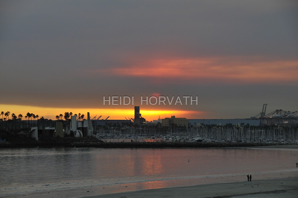 Sunset... of a different kind. by HEIDI  HORVATH