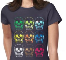 Skull x9 Womens Fitted T-Shirt