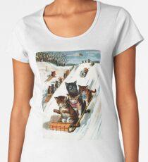 Toboggan Cats Women's Premium T-Shirt