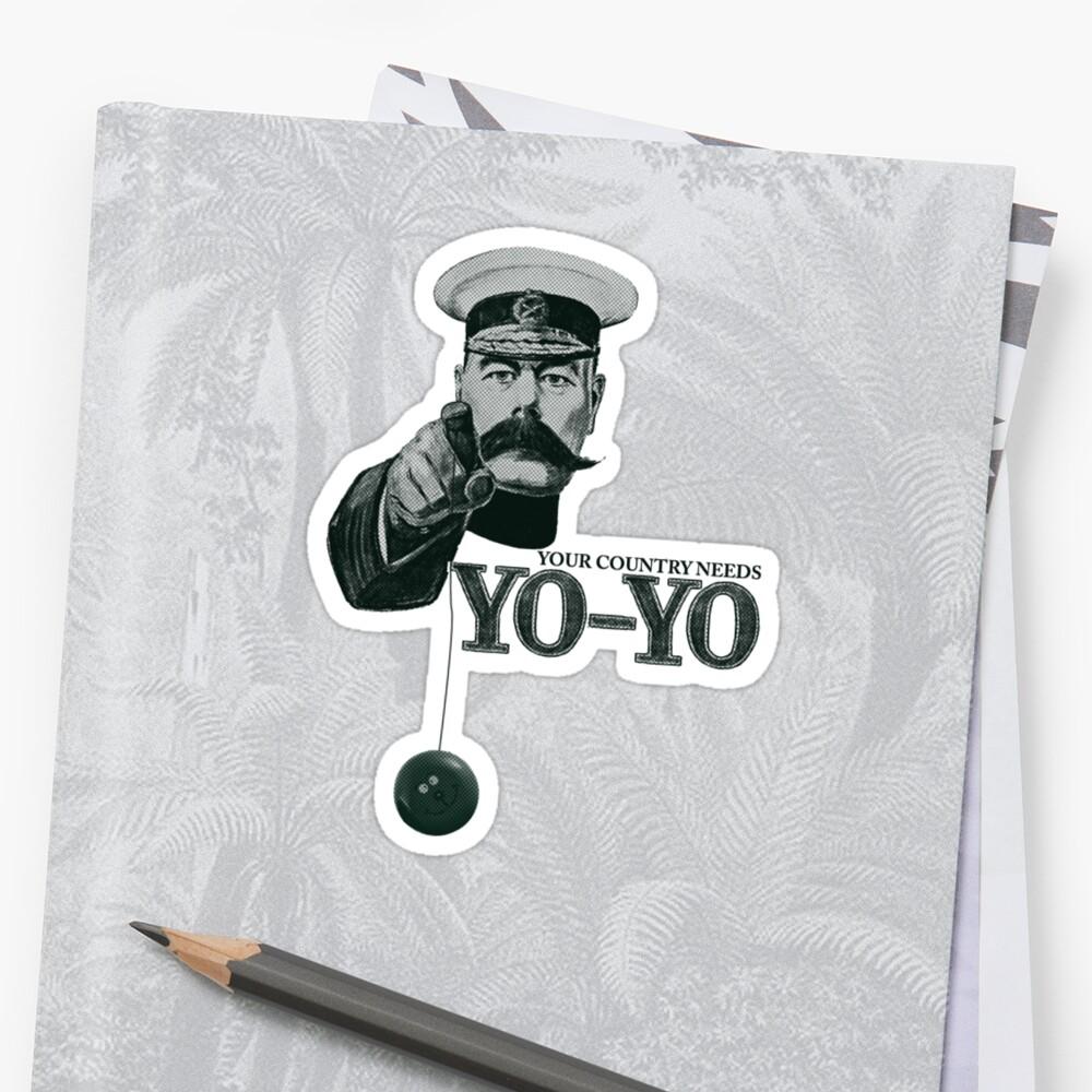 Your country needs yo-yo  by Matt Simner