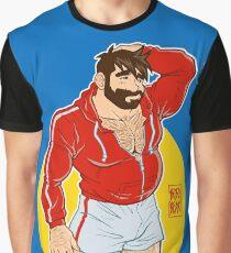 ADAM LIKES SPORTSWEAR - RED SWEATER Graphic T-Shirt
