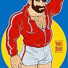 ADAM LIKES SPORTSWEAR - RED SWEATER by bobobear