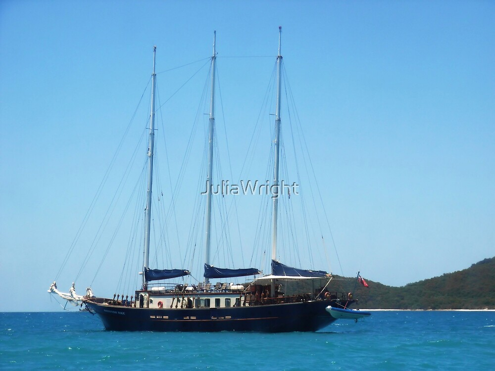 Yachting in Paradise by JuliaWright