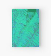 Feathered leaves Hardcover Journal
