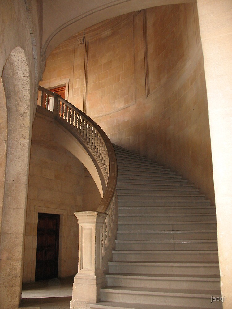 Graceful Stairway by jacqi
