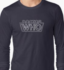 Doctor Who Classic Logo 2 Long Sleeve T-Shirt