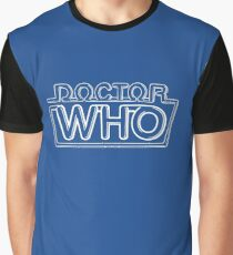 Doctor Who Classic Logo 2 Graphic T-Shirt