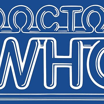 Doctor Who Classic Logo 2 by graphixzone101