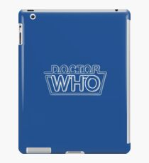 Doctor Who Classic Logo 2 iPad Case/Skin