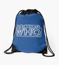 Doctor Who Classic Logo 2 Drawstring Bag