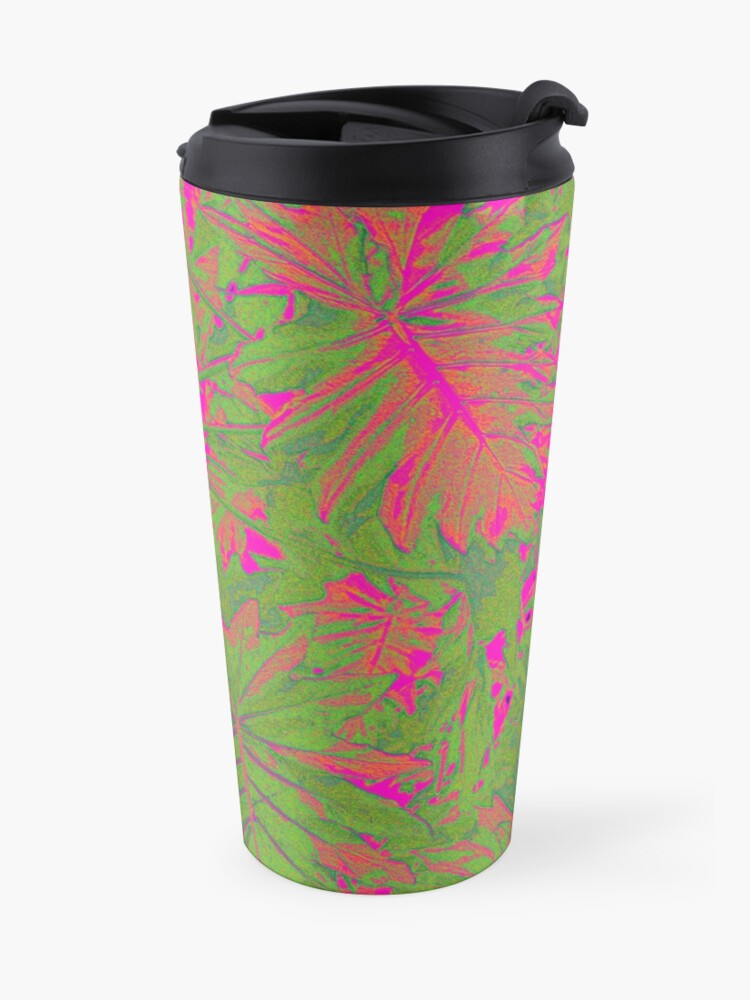 Alternate view of Hot Pink Nature Travel Mug