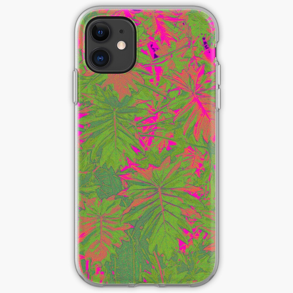 Hot Pink Nature iPhone Case & Cover