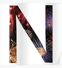 N Fireworks Poster