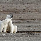 Mother and son by Yves Roumazeilles