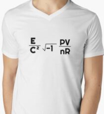 MIT Equation Men's V-Neck T-Shirt