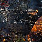 Burning ship 2 by Zvonko Jerkovic