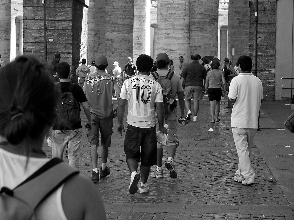 Marching to the Vatican by nicholascorso