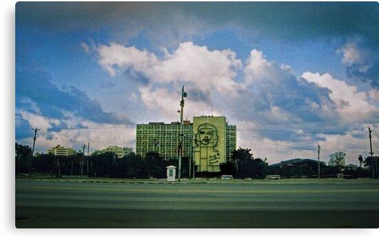 havana revolutionary square by opiumfire
