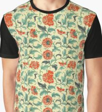 Flowers Background  Graphic T-Shirt