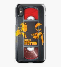 Pulp Fiction Travolta and Jackson case iPhone Case/Skin