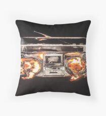 Revolution radio Throw Pillow