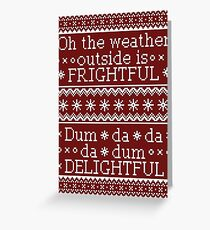 Dum-da-da da-dum delightful Greeting Card