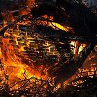Burning ship 4 by Zvonko Jerkovic