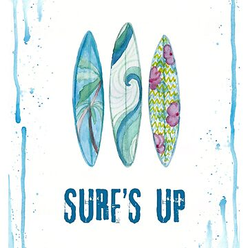 Surf's Up by Elenix