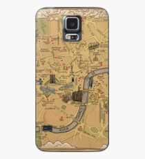Map of London - Tolkien Inspired  Case/Skin for Samsung Galaxy