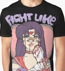 Sailor Moon - Fight Like A Sailor (Sailor Mars) Graphic T-Shirt