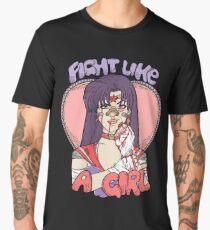 Sailor Moon - Fight Like A Sailor (Sailor Mars) Men's Premium T-Shirt