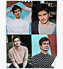 Tyler Blackburn Collage Poster