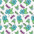 Dragonfly White by Kristin Omdahl