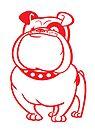 British Bulldog by drawgood