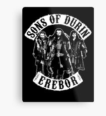 Sons of Durin Metal Print