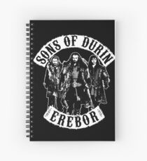 Sons of Durin Spiral Notebook