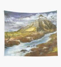 The Lonely Mountain Wall Tapestry