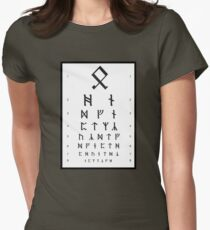 Bilbo's Eye Appointment Women's Fitted T-Shirt