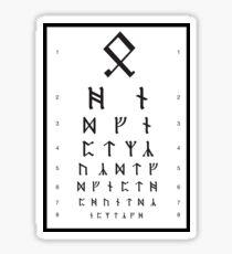 Bilbos Augentermin Sticker