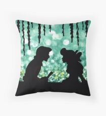 Kiss The Girl Throw Pillow