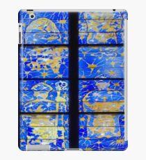 2-Vitraux Cathedrale Notre Dame de Rodez - France  iPad Case/Skin