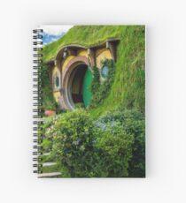 Taschenende, Hobiton, Rotorua, Neuseeland Spiralblock