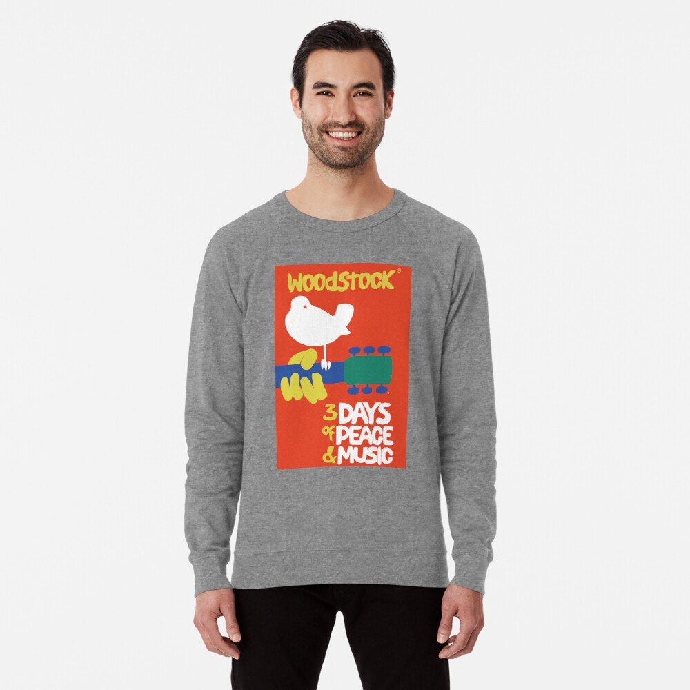 Woodstock 1969 Lightweight Sweatshirt