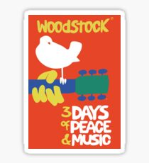 Woodstock 1969 Sticker