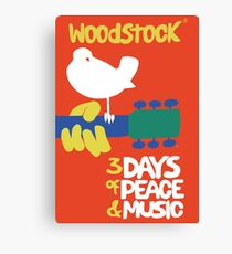 Woodstock 1969 Canvas Print