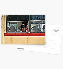 bus rider Postcards
