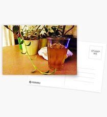 Still Leben with Tea Postcards